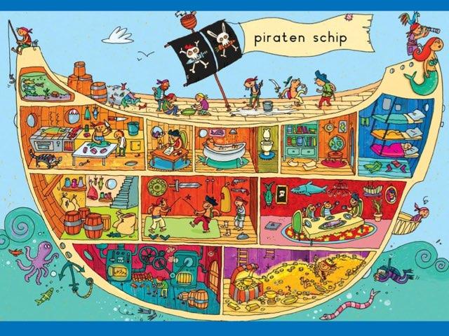 Piratenspel by Sigrid Hoogkamer