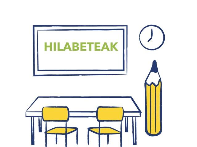 Hilabeteak by Aiora Atutxa