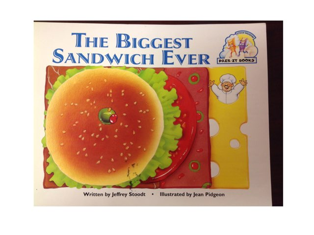 The Biggest Sandwich Ever Questions by Erin Previte