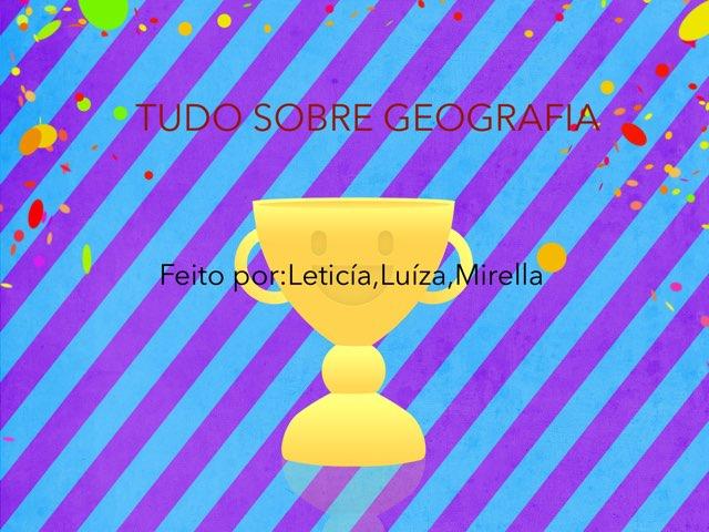 Geografia  by Mirella Bernardes