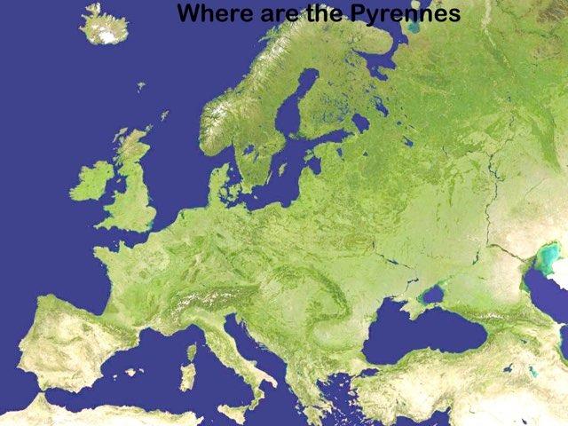 Relieves de Europa. by Sara Guadalupe De la Parra Fleitas
