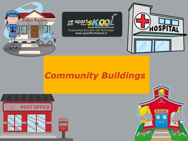 Community Buildings  by TinyTap creator