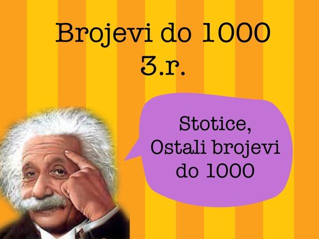3.r. Brojevi Do 1000 by natasa delac