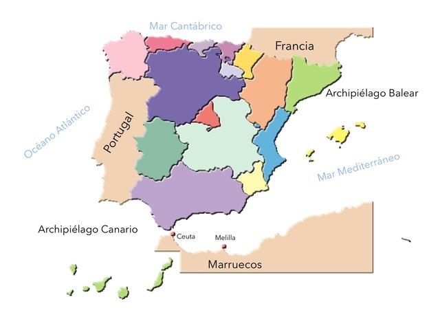 Comunidades Autónomas by Paula Torres