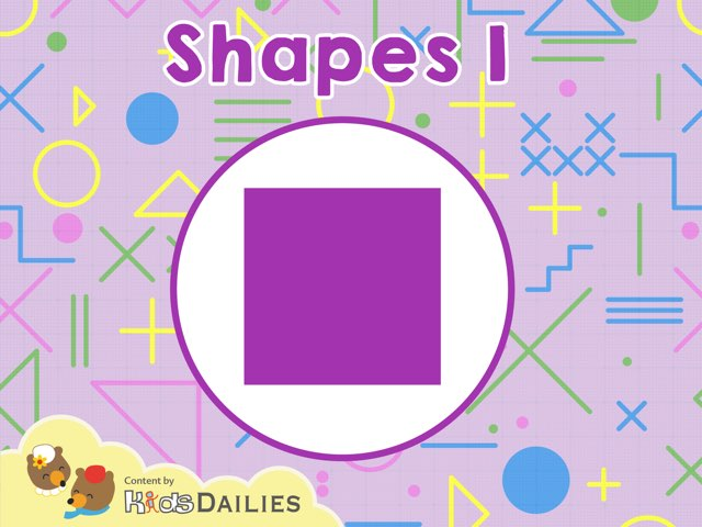Shapes 1 by Kids Dailies