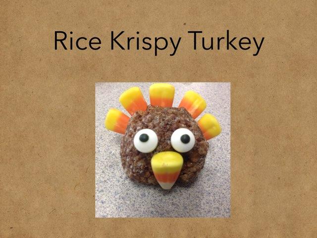 Rice Krispy Turkey by Karen Souter