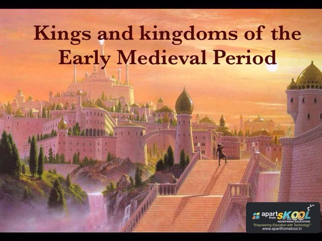 Kingdoms Of The Early Medieval Period  by TinyTap creator