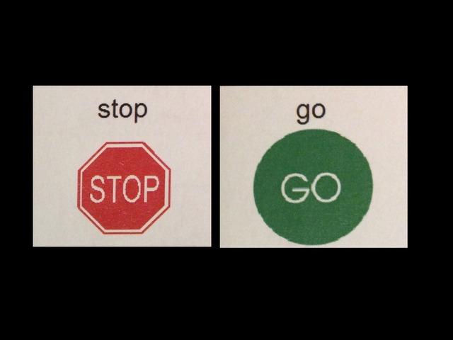 Stop Or Go? by Aimee Cummins