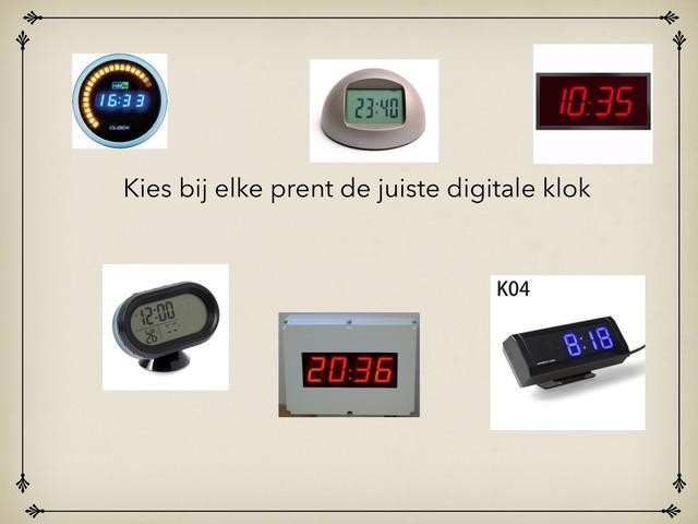 Digitale Klok by Jora Kesteloot