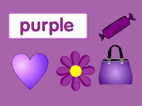 Colours: Purple #1(UK) by Carol Smith