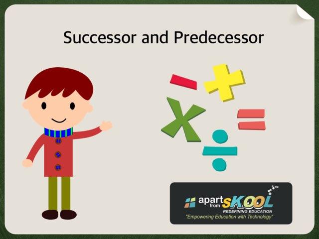 Successor And Predecessor  by TinyTap creator