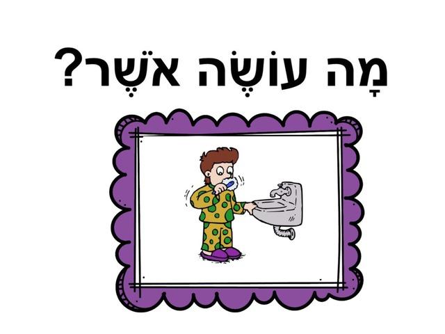 פעלים by שחר בית ספר