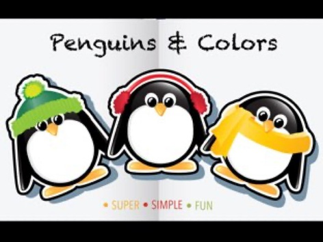 Penguins And Colors  by Cici Lampe