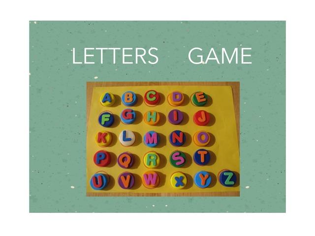 Letter Game by Daisy Vivar