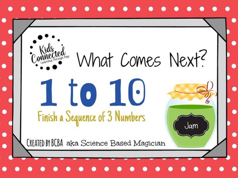 What Comes Next 1-10: Jam Edition by Kids  Connected