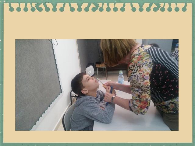 צחצוח שיניים אביב קאונוב by נורית בנימין