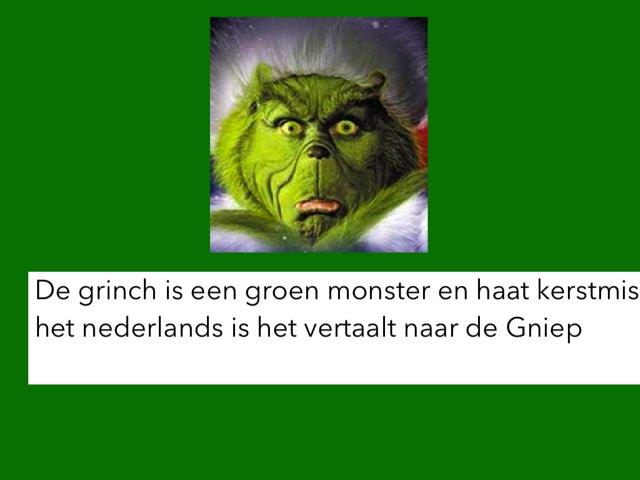 De Grinch Spel  by Astrid