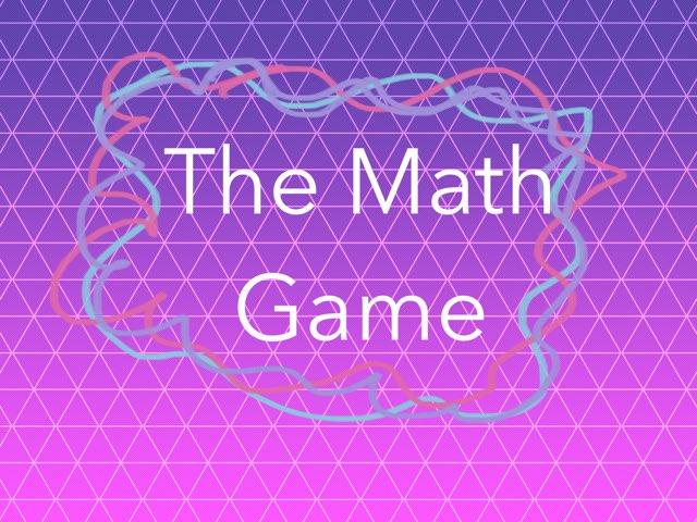 The Math Game by Estrellita Garcia