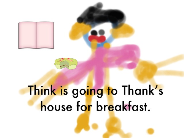 Think Thank His Has by Amanda Whelan