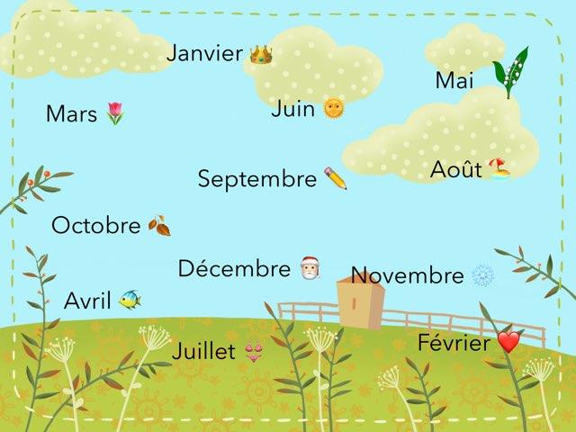 Les mois en pagaille  by Coraline Germain
