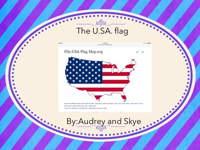 All About the U.S.A flag! by Hulstrom 1st Grade