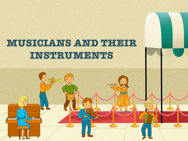 Musicians And Their Instruments by Hadi  Oyna