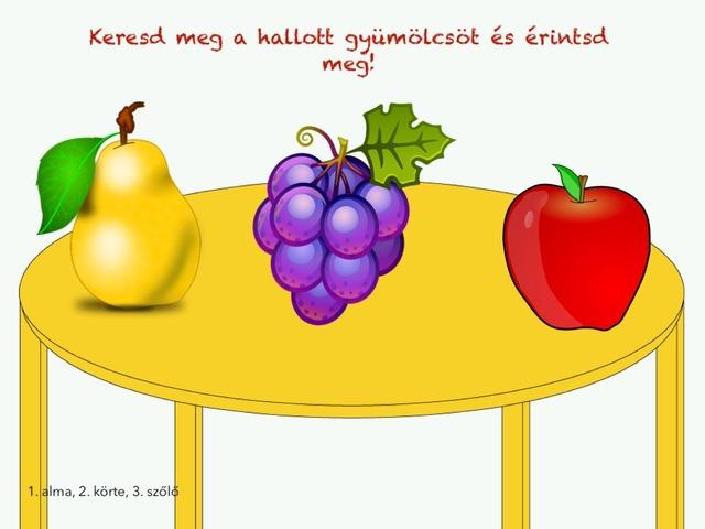 Gyümölcsök és zöldségek by Evelin Pölös