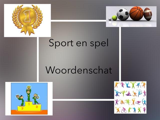 Woordenschat Sport en spel by Laura mos