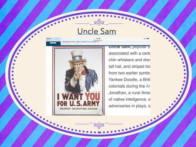 Uncle Sam by Hulstrom 1st Grade