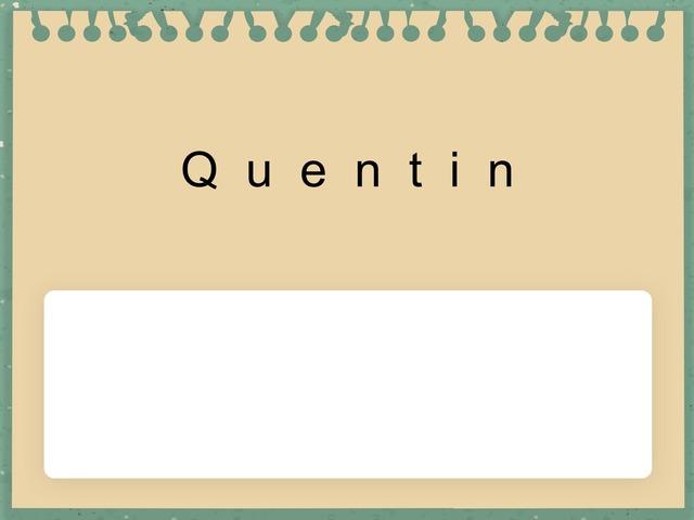 Q Name  by Marilyn Vargas