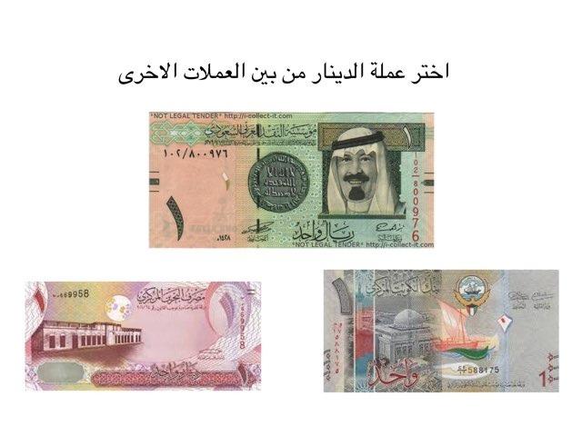 علمة الدينار by Rosaila alkhlaifa