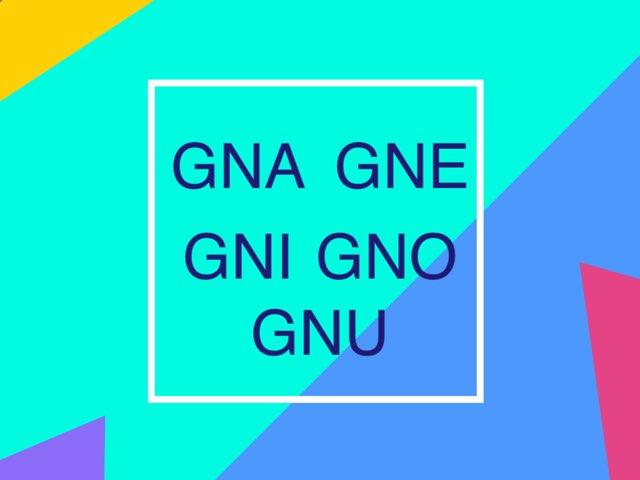 GNA GNE GNI GNO GNU X CHRI  by Paola Mazzi