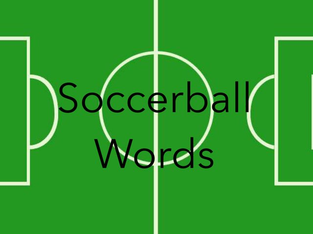 WFPS Soccerball Words by Danette Brown