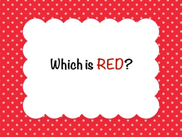 Which Is Red? by Melissa Winn