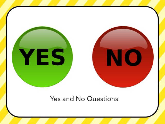 Yes / No Questions #1 by Carol Smith