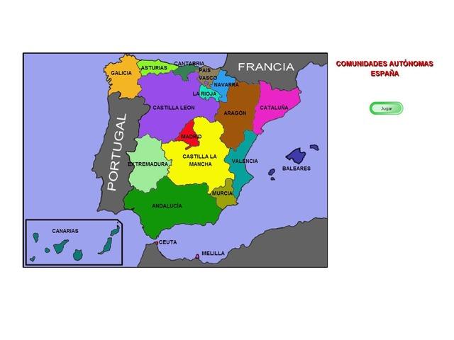 Comunidades Autonomas by Marina Ramos Reina