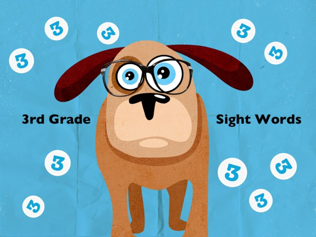 Third Grade Sight Words 1 by Ellen Weber