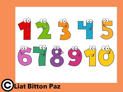 Numbers 1-10 by Liat Bitton-paz