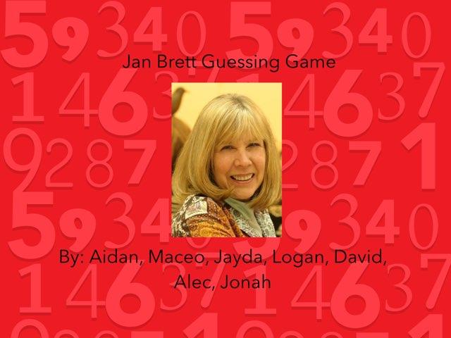 Jan Brett Guessing Game by Bretta loeffler