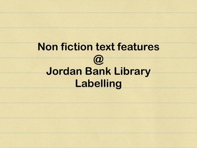 Labelling@jblibrary by Jordan Bank