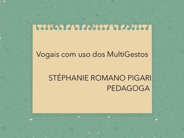 Jogo Do A E Do E by Stephanie Romano Pigari