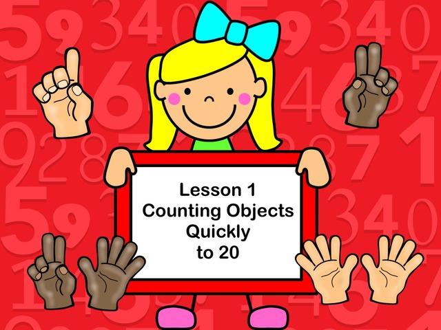Subitizing - Lesson 1  by Jennifer