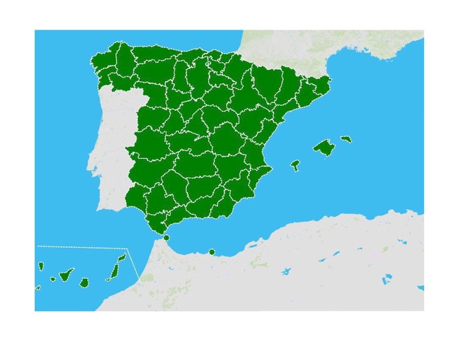 Provincias de España by MarinaLoreto Bueno Álvarez