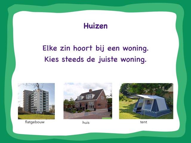 Woordenschat Woningen by Annemieke Dijkmans