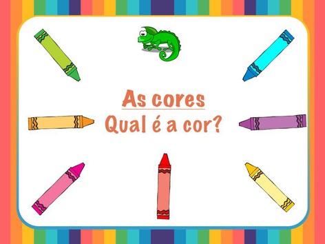 Falar português (as cores) by Raquel