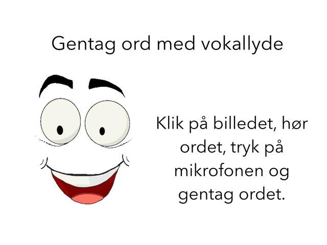 Gentag Ord Med Vokallyde by Ådalskolen Årgang 2015