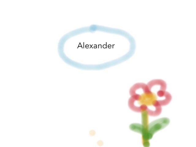 Alexander by Mishel Betsagoo