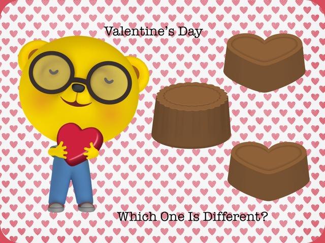 Valentine's Day: Different  by Carol Smith