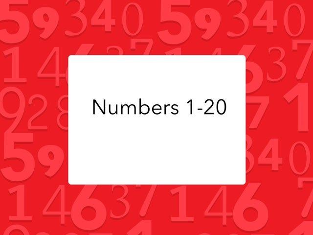 DPISD ELEM PWE Numbers 1-20 by Cynthia Ramirez