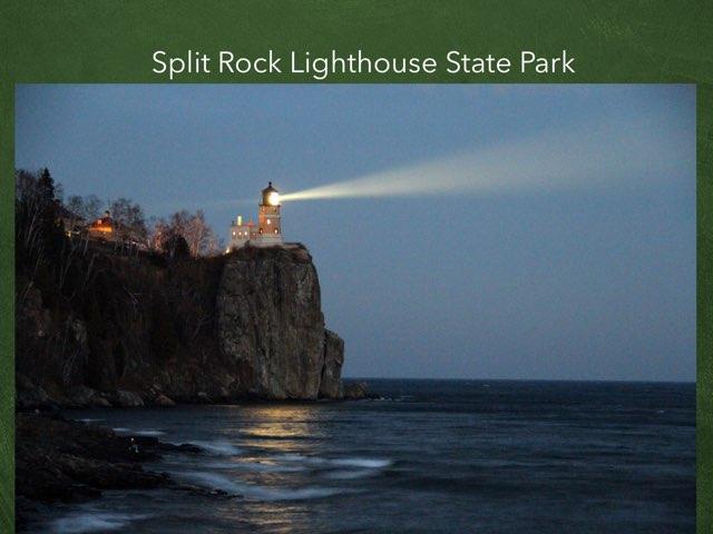 Split Rock Lighthouse State Park by Bruce Abbe